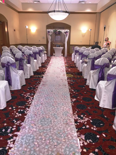 Indoor Ceremony Purple